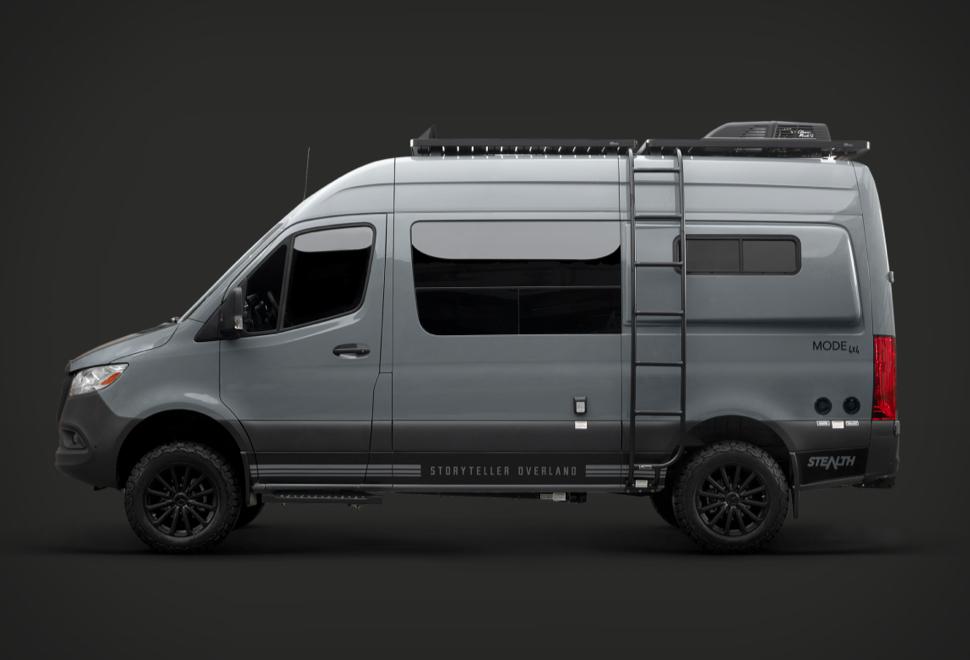 Stealth Mode Adventure Van | Image