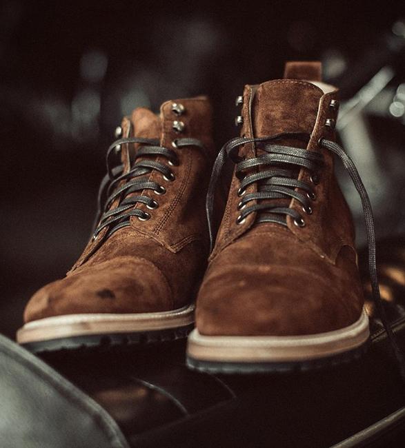 Taylor Stitch Moto Boot