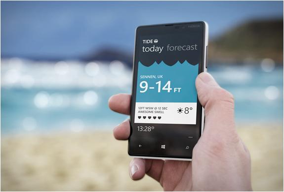 Tide | Surfing Forecast App | Image
