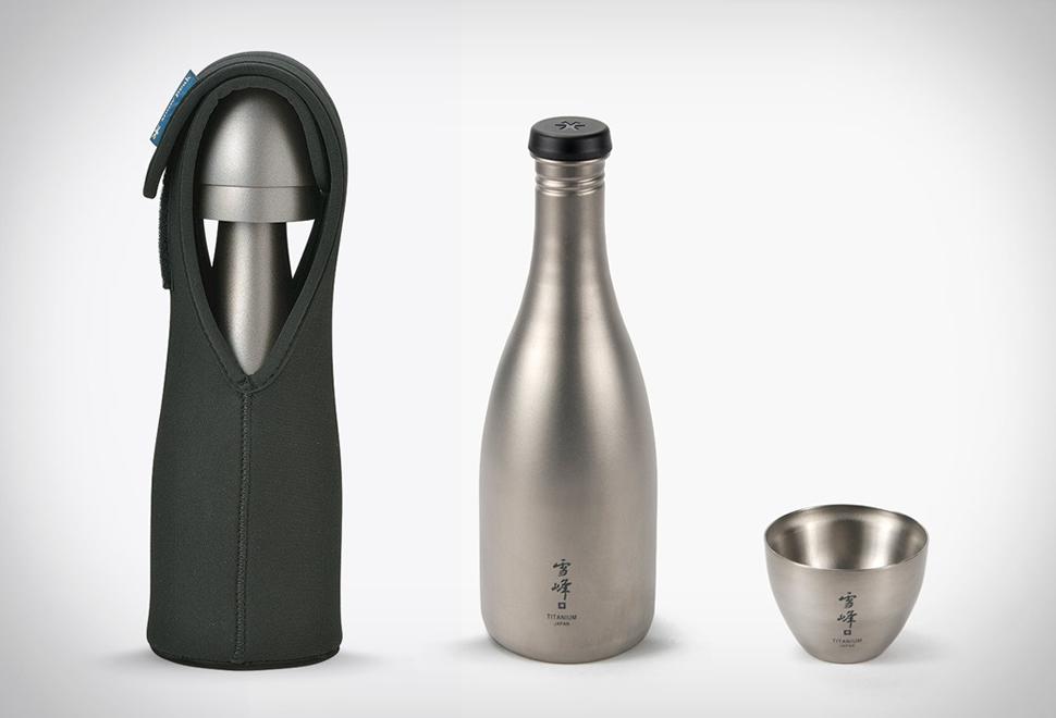 Titanium Sake Set | Image