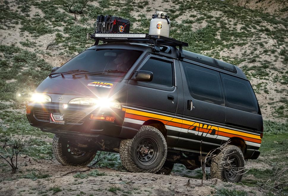 Toyota Adventure Ace 4WD Van | Image