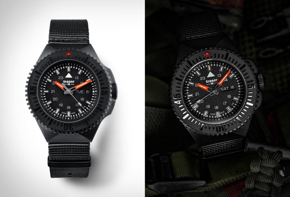 Traser P69 Black Stealth Watch | Image
