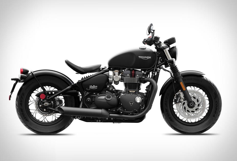 Triumph Bonneville Bobber Black | Image