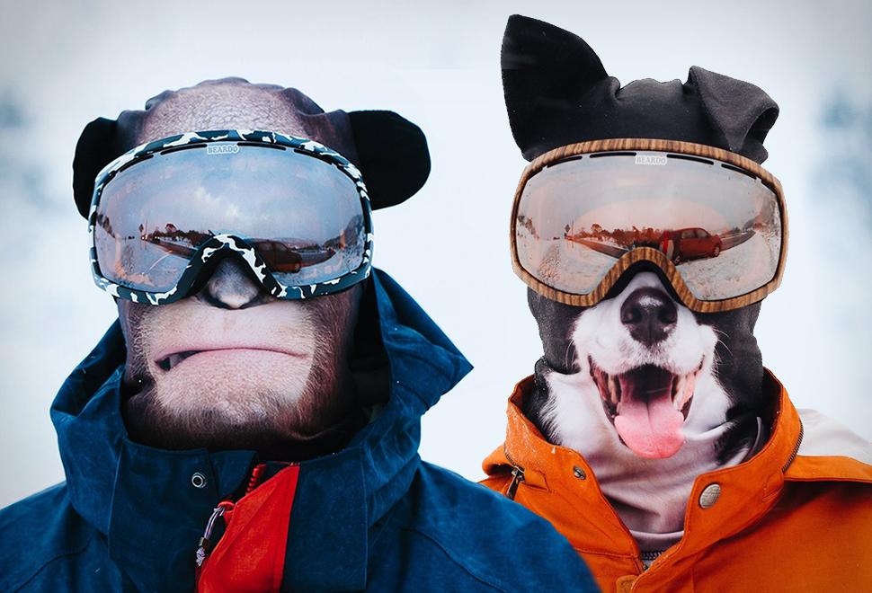 Ultra-Realistic Animal Ski Masks | Image