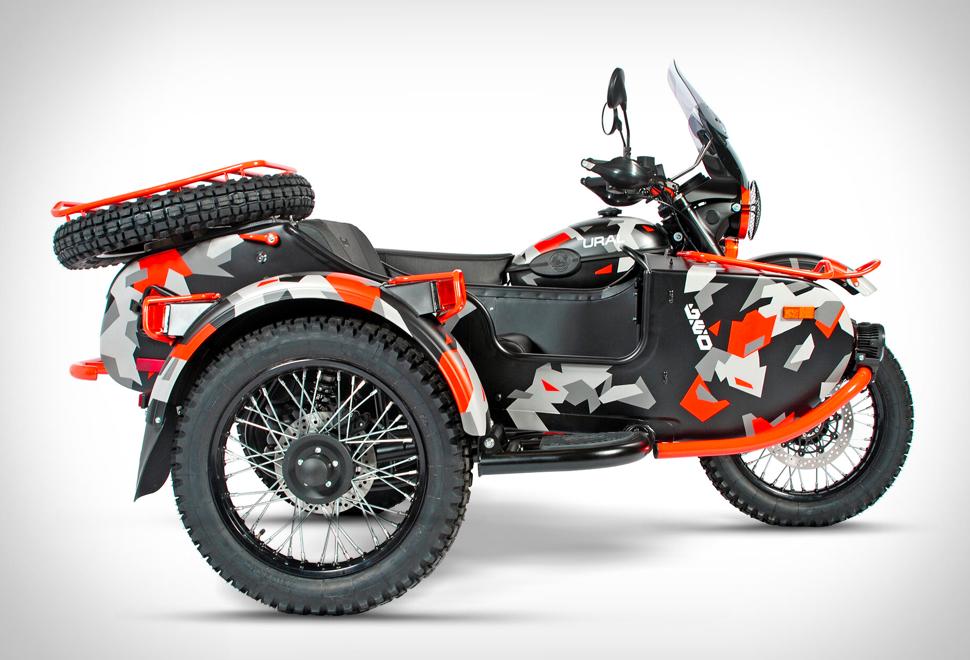Ural GEO Sidecar Motorcycle | Image