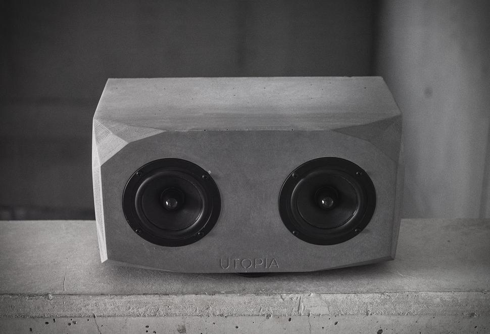 Utopia Concrete Speaker | Image