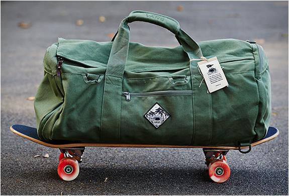 JOEL TUDOR DUFFLE BAG | BY VANS | Image