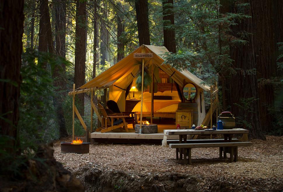 Ventana Redwood Canyon Glampsite | Image