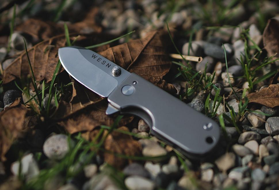 Wesn Titanium Micro Knife | Image
