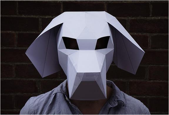 Downloadable 3d Masks By Wintercroft