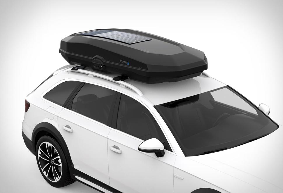 Yakima Solar Roof Box | Image