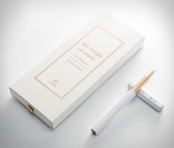 ystudio-white-rollerball-pen-2.jpg | Image