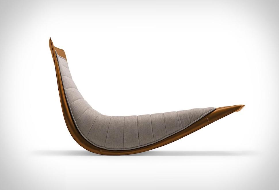 Zanotta Rider Rocking Lounge Chair | Image